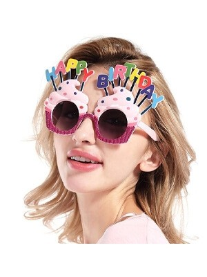 Birthday Novelty Glasses