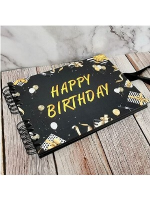 Birthday Guestbooks and Photo Albums