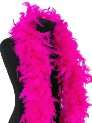 Deluxe Hot Pink Feather Boa – 100g -180cm