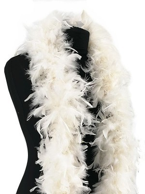 Deluxe White Feather Boa – 100g -180cm