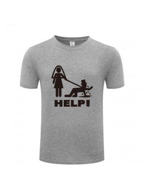 'Help!' Stag Night T-shirt