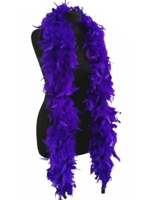 Luxury Purple Feather Boa – 80g -180cm
