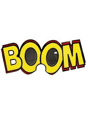 'Boom' Framed Pop Art Comic Style Sunglasses