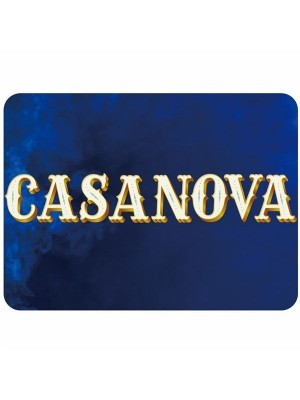 'Casanova' Rectangle Word Board Photo Booth Prop
