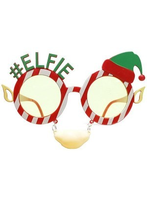 #Elfie Elf Eyes, Ears & Nose Attachment Christmas Glasses