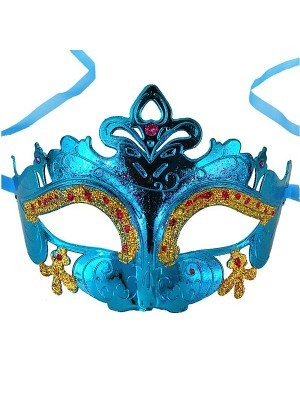 'Little Fairy' Mask Blue