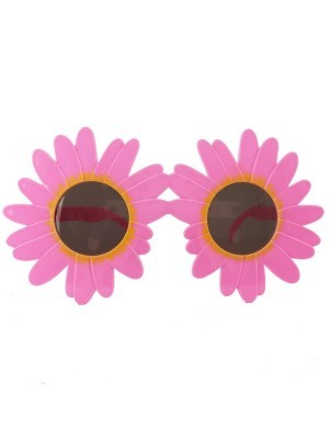 Pretty Pink Daisies Sunglasses