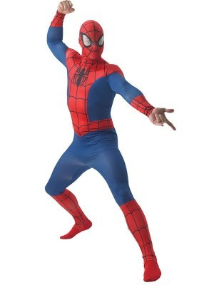 Adult Classic Spiderman Marvel Comics Fancy Dress Costume