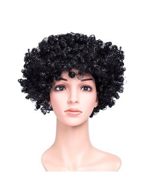 Afro Wig Black