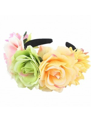 Mixed Pastel Flower Crown