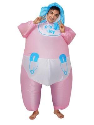 Big Baby Boy Inflatable Fancy Dress Costume