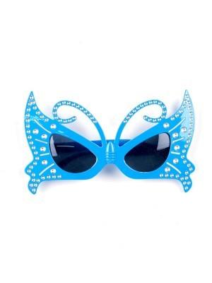 Beautiful Blue Butterfly Sunglasses