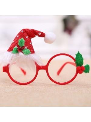 Christmas Santa Hat Glasses