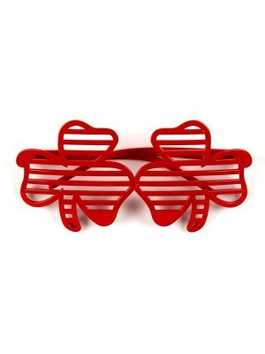 Red Lucky Clover Sunglasses