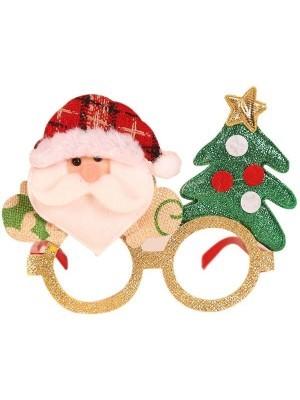Cosy Santa and Christmas Tree Glasses