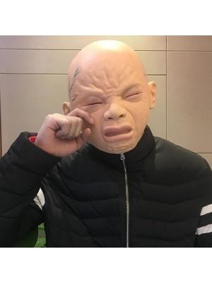 Ugly Mutant Screaming Baby Head Mask Halloween Fancy Dress Costume