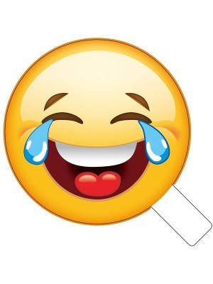 Tears Of Laughter Emoji Photo Booth Prop