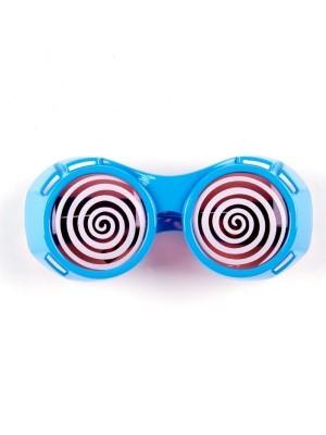 Hypnotic Dizzy Eye Blue Goggles