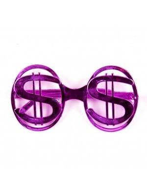 US Dollar Glasses Pink