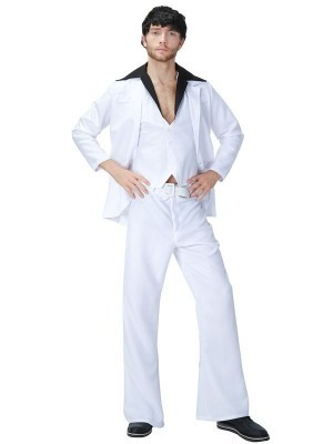 Saturday Night Fever Disco Fancy Dress Costume