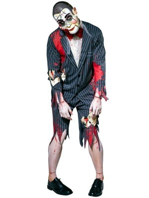 Evil Creepy Puppet Men's Halloween Costume
