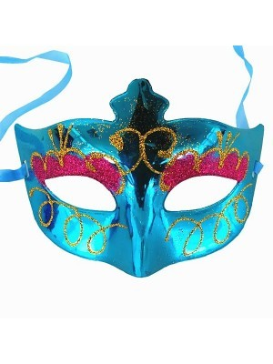 Eyeshadow Masquerade Mask Blue