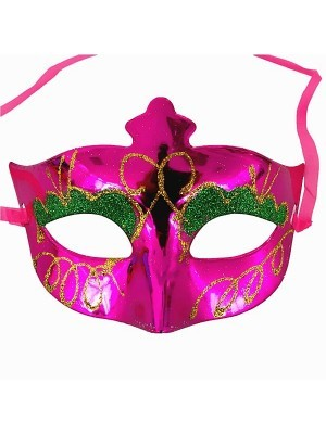 Eyeshadow Masquerade Mask Pink