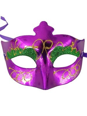 Eyeshadow Masquerade Mask Purple