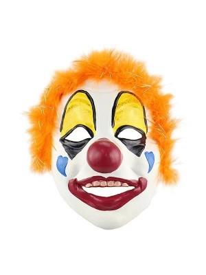 Fancy Dress, Costume Heart Face Clown Mask