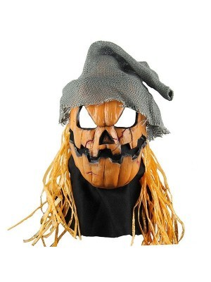 Fancy Dress, Costume Smashing Jack Pumpkin Mask
