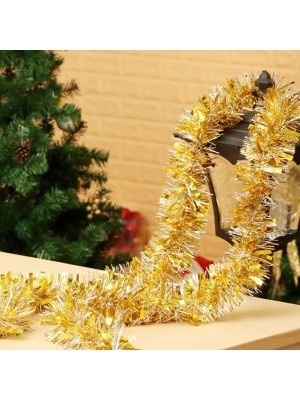 Gold and Silver Mixed Tinsel