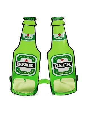 Green Bottles Of Beer Sunglasses