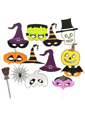Halloween Props On Sticks - Ready Made