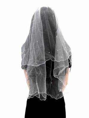 Hen Party Veil With Pearl Decorations