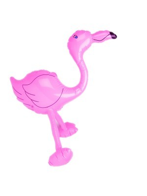 Inflatable Pink Flamingo