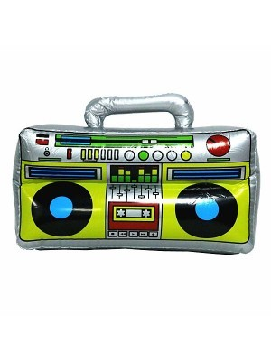 Inflatable 80s Ghetto Blaster