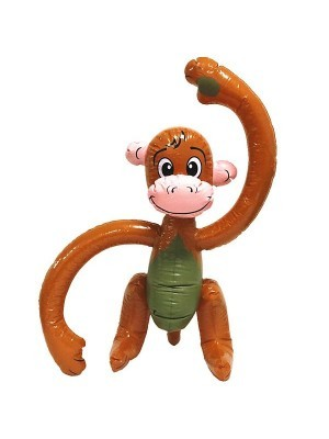 Inflatable Smiling Happy Monkey