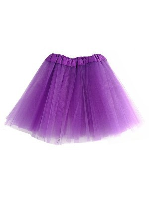 Kids Tutu Skirt - Purple