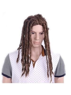 Long Brown Dreadlocks Wig