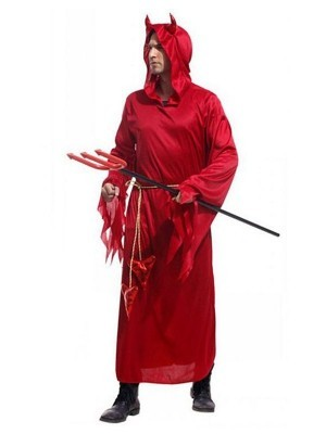 Male Classic Devil Fancy Dress Costume