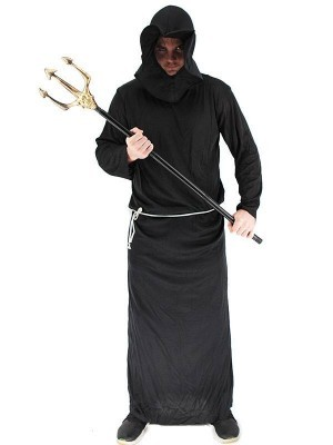 Male Faceless Monk Fancy Dress Costume – One Size