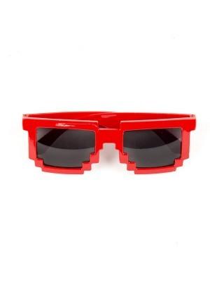 Red Mosaic Sunglasses