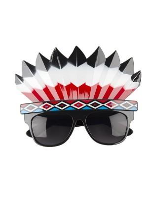 Native American Indian Headdress Sunglasses