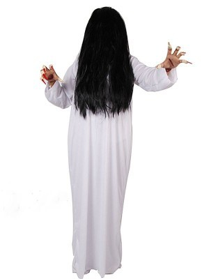 Phantom Sadako Ghost Tunic Halloween Fancy Dress Costume