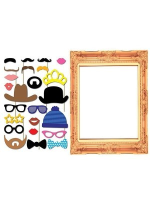 Photo Booth Props and Photo Picture Frame