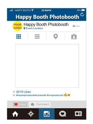 CUSTOM Social Media Style Selfie Posing Frames
