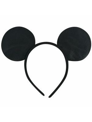 Plain Black Mouse Ears