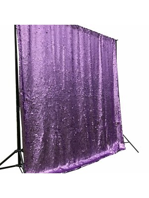 Beautiful Purple Sequin Backdrop