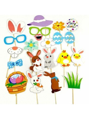 Ready Made Easter Props On Sticks