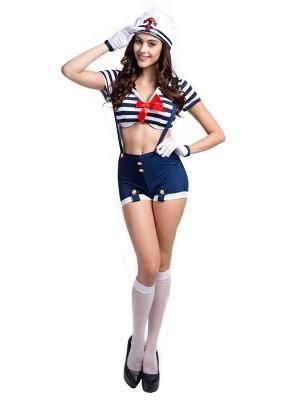 Female Sailor Fancy Dress Costume